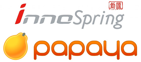 Innospring-Papaya Event Logo