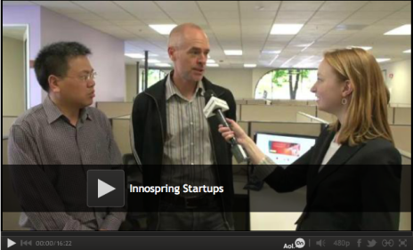 TechCrunch TV:  Innospring: The Incubator That Wants To Bridge The Gap Between China & Silicon Valley