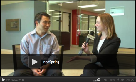 TechCrunch TV Interviews InnoSpring President Eugene Zhang